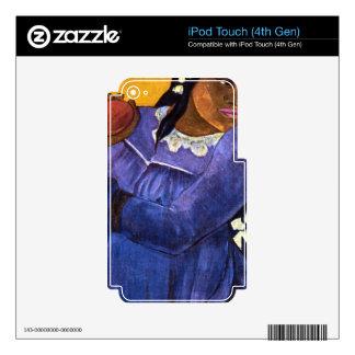 Eugène Henri Paul Gauguin - Woman with Mango iPod Touch 4G Skin
