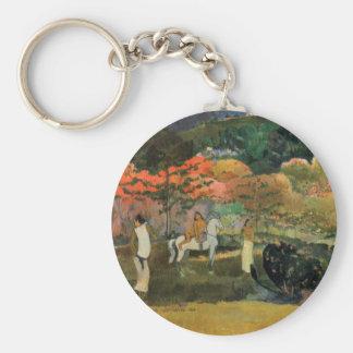 Eugène Henri Paul Gauguin - Women and Mold Keychains