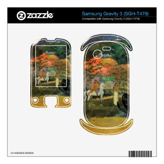 Eugène Henri Paul Gauguin - Women and Mold Samsung Gravity 3 Skins