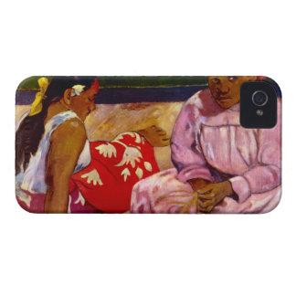 Eugène Henri Paul Gauguin - Women of Tahiti iPhone 4 Covers