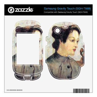 Eugène Henri Paul Gauguin - Women With Topknots Samsung Gravity Touch Skin