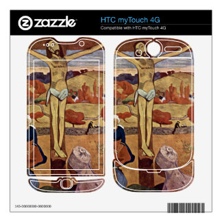 Eugène Henri Paul Gauguin - Yellow Christ Decals For HTC myTouch 4G