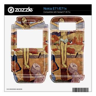 Eugène Henri Paul Gauguin - Yellow Christ Decals For Nokia E71x