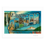 Eugene, letra ScenesEugene de OregonLarge, O Tarjeta Postal