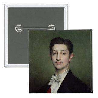 Eugene-Louis-Napoleon Bonaparte  1874 Button
