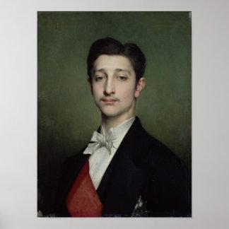 Eugene-Louis-Napoleon Bonaparte  1874 Poster