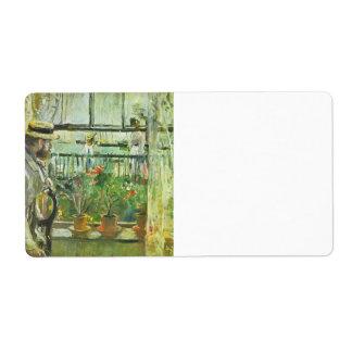 Eugene Manet en la isla del Wight por Morisot Etiqueta De Envío
