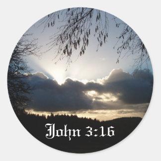 Eugene, O… 3:16 de Juan Pegatina Redonda