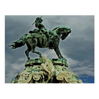 Eugene of Savoy Statue Postcard
