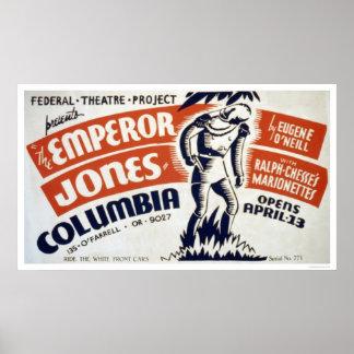 Eugene ONeill Emperor 1937 WPA Poster