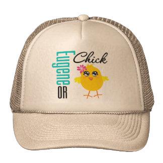 Eugene OR Chick Trucker Hat
