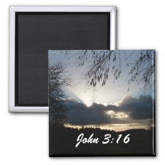 Eugene, OR...John 3:16 Magnet