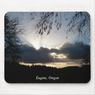 Eugene, Oregon Mouse Pad