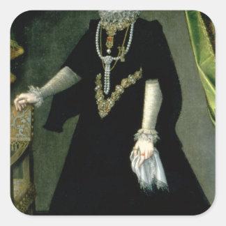 Eugenia de Isabel Clara de la infanta Pegatina Cuadrada