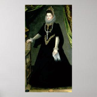 Eugenia de Isabel Clara de la infanta Póster