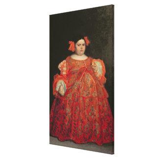 Eugenia Martinez Vallejo, called La Monstrua (oil Canvas Prints