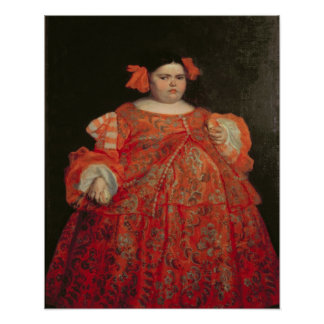Eugenia Martinez Vallejo, called La Monstrua (oil Poster