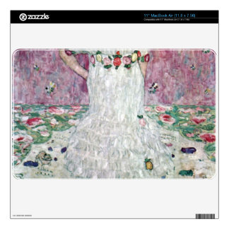 Eugenia Primavesi by Gustav Klimt Decals For MacBook