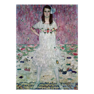 Eugenia Primavesi by Gustav Klimt Print