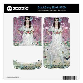 Eugenia Primavesi by Gustav Klimt BlackBerry Decals