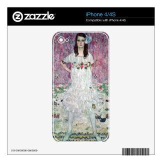 Eugenia Primavesi by Gustav Klimt Skin For iPhone 4S