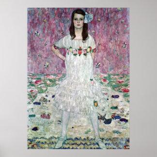 Eugenia Primavesi de Gustavo Klimt Posters
