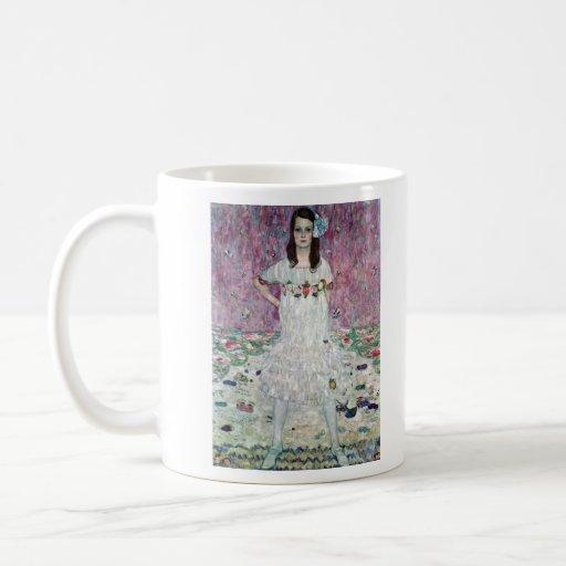 Eugenia Primavesi de Gustavo Klimt Tazas De Café