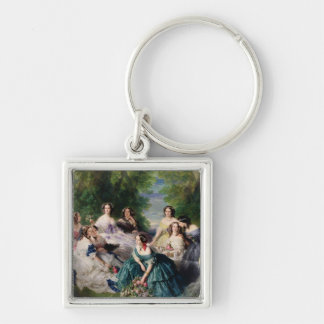 Eugenie Surrounded by her Ladies-in-Waiting Keychain