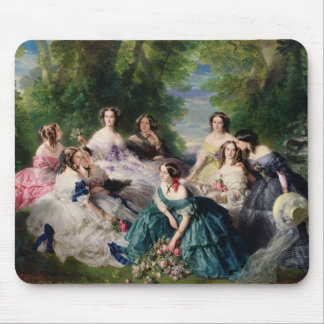Eugenie Surrounded by her Ladies-in-Waiting Mouse Pad