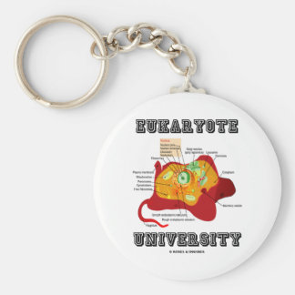 Eukaryote University (Animal Cell) Keychain