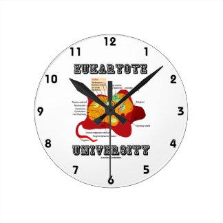 Eukaryote University (Animal Cell) Round Clock