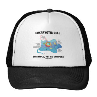 Eukaryotic Cell So Simple, Yet So Complex Trucker Hat
