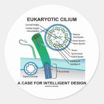 Eukaryotic Cilium A Case For Intelligent Design Sticker