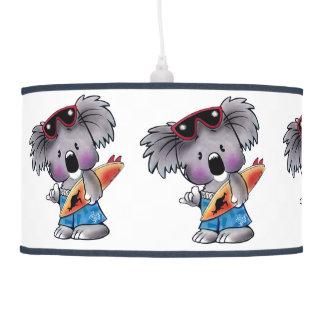 Euki the Surf Koala Children s Room Pendant Lamp