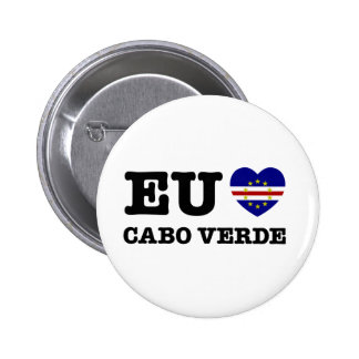 Eul Amo Cabo Verde 2 Inch Round Button