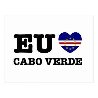 Eul Amo Cabo Verde Postcard