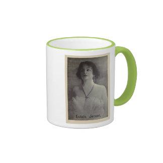 Eulalie Jensen 1921 vintage portrait mug