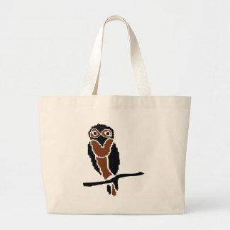eule del owlet del búho bolsa de mano