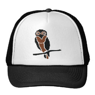 eule del owlet del búho gorras de camionero