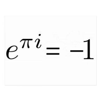 Euler formula! postcard