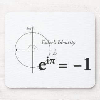 Euler Identity Formula Mouse Pad