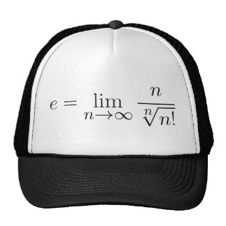 Euler's constant by Stirling's equation Trucker Hat