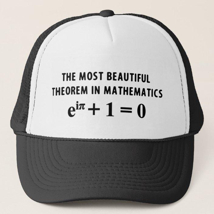 Unisex Math Equations Mathematics Formula Baseball Hats Adjustable Sun Hats caps