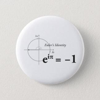 Euler's Identity Math Formula Button