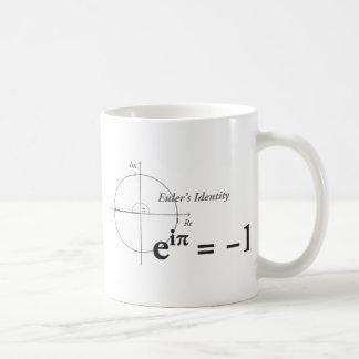 Euler's Identity Math Formula Classic White Coffee Mug