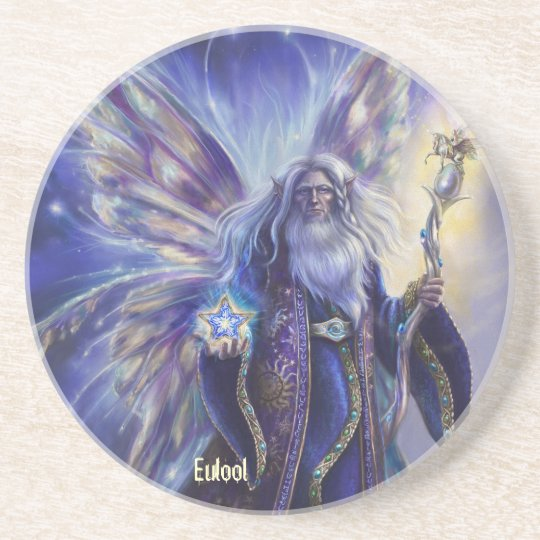 Eulool - Fairy Counsel Drink Coaster
