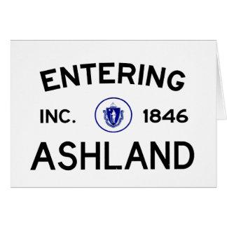 Euntering Ashland Card