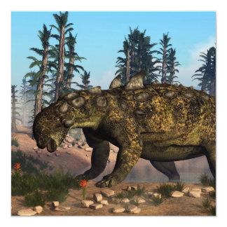 Euoplocephalus dinosaur - 3D render Card