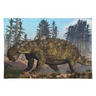 Euoplocephalus dinosaur - 3D render Cloth Placemat