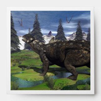 Euoplocephalus dinosaur - 3D render Envelope